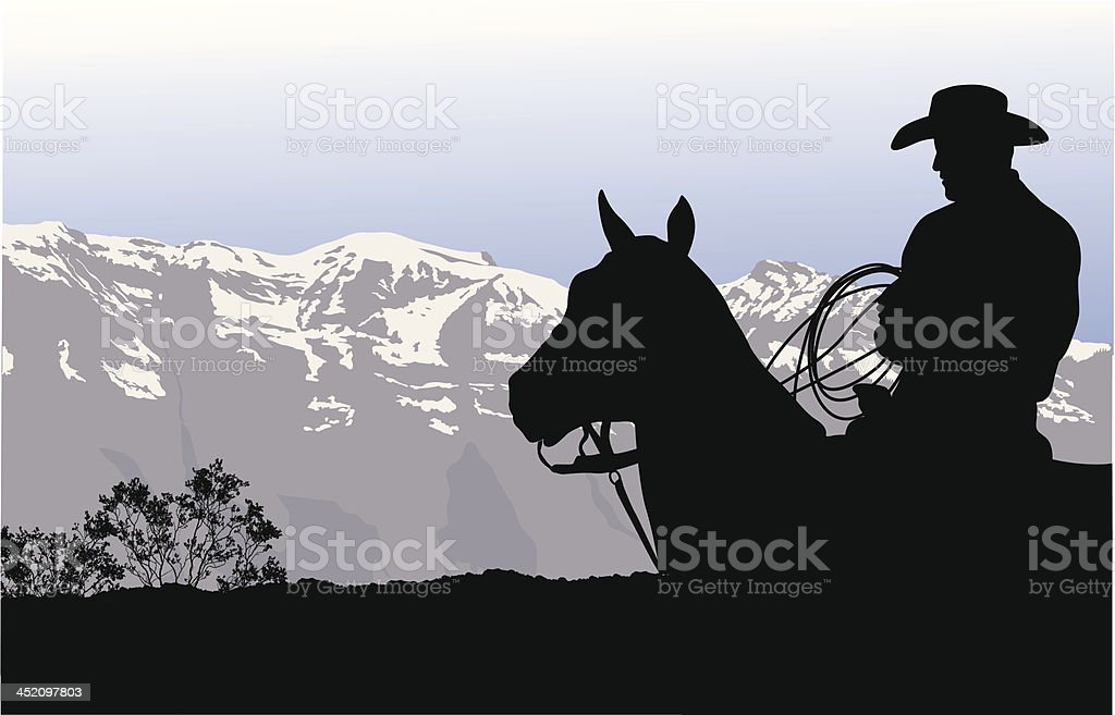 Rough Country royalty-free stock vector art