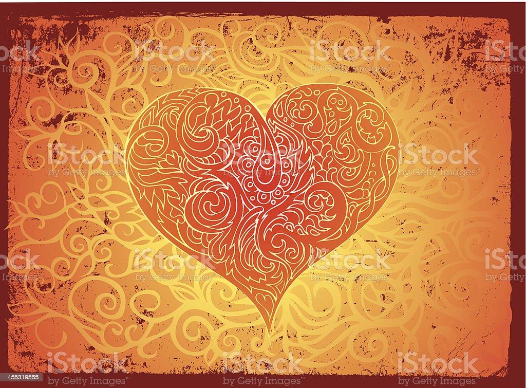 rough love royalty-free stock vector art
