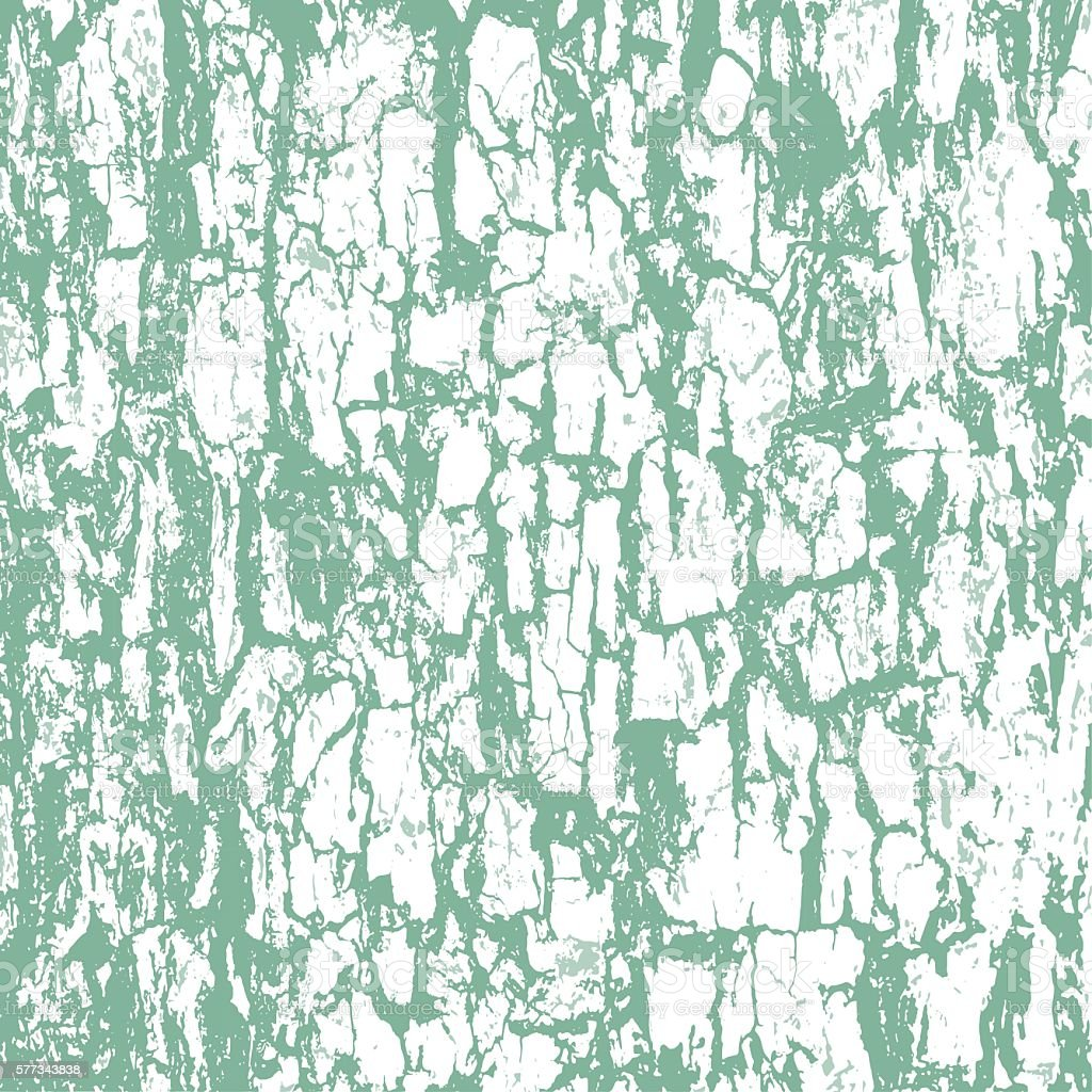 Rough texture of bark vector art illustration