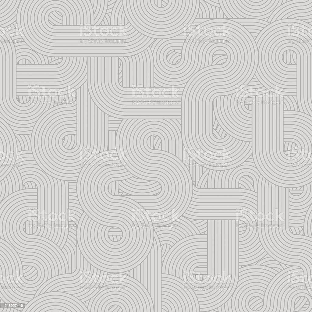 Round lines pattern gray light vector art illustration