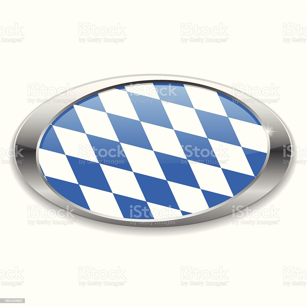 Round oktoberfest button royalty-free stock vector art