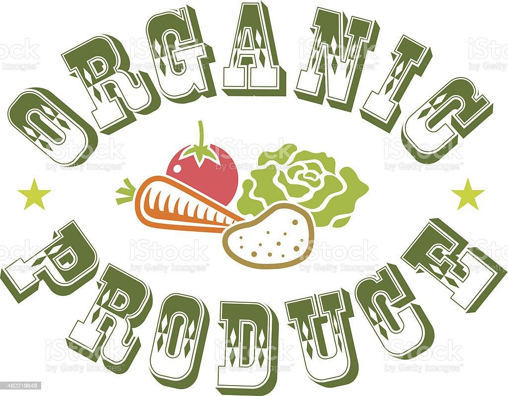Round organic royalty-free stock vector art