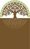 Round tree label