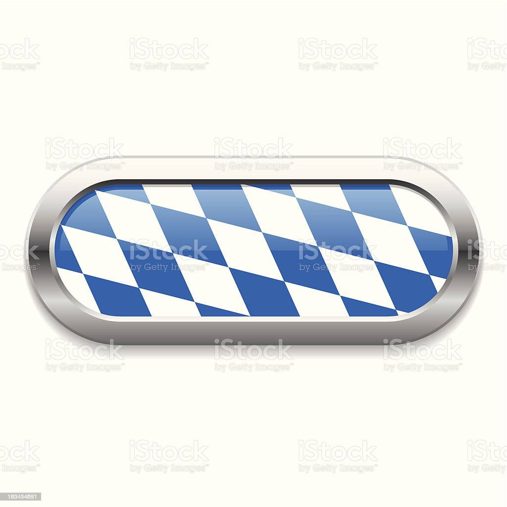 Rounded oktoberfest button royalty-free stock vector art