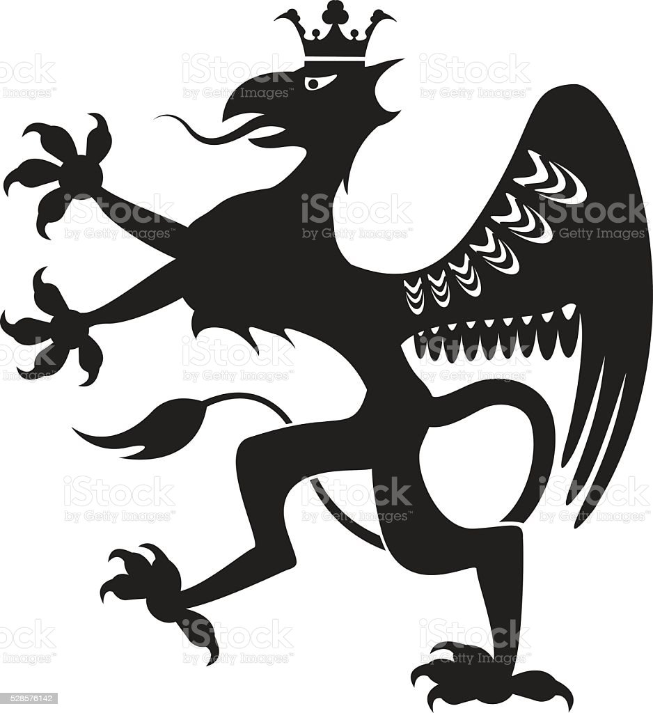 Royal Beast vector file vector art illustration