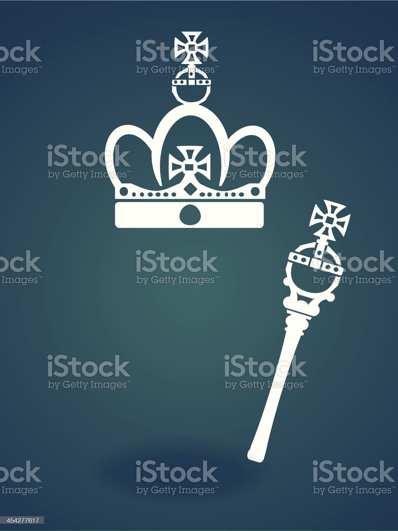 Royal Concept Icon - Vector File EPS10 royalty-free stock vector art