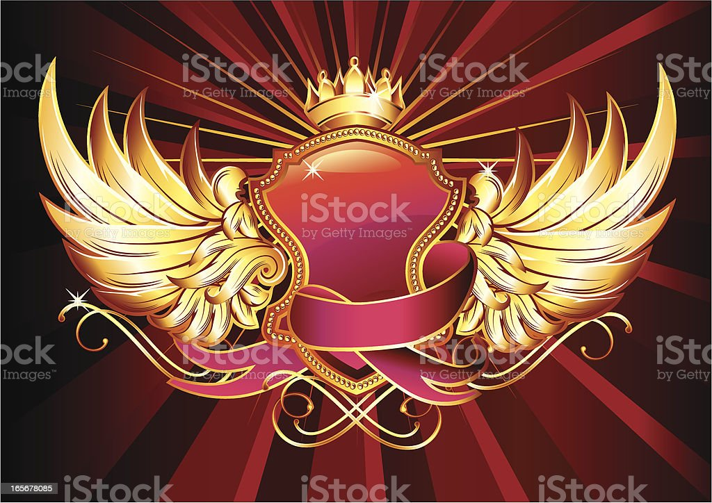 Royal Insignia royalty-free stock vector art