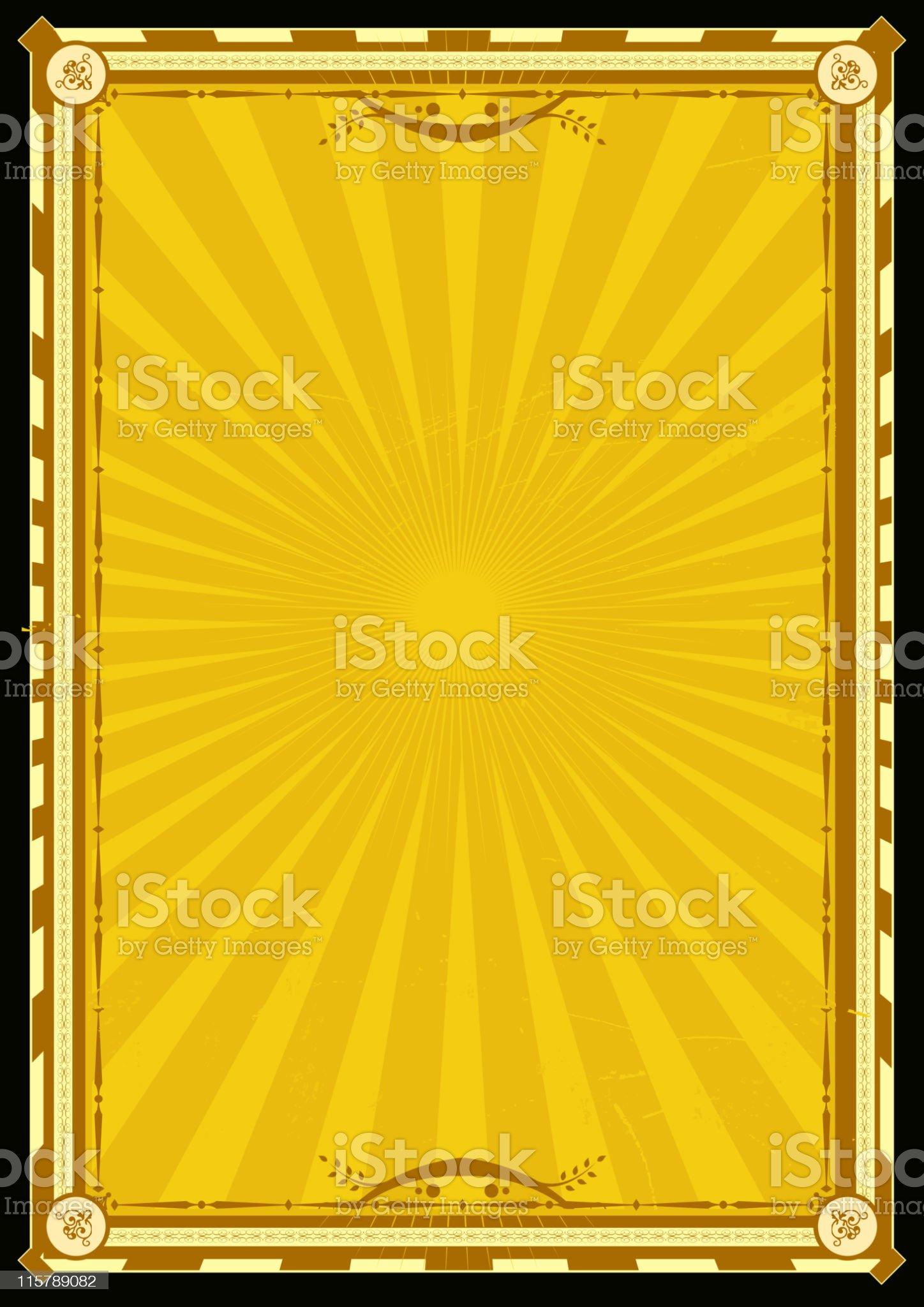 Royal Palace Vertical Poster royalty-free stock vector art