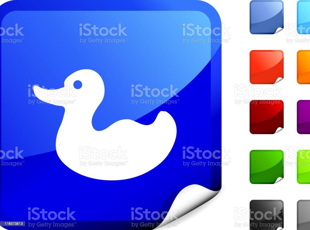 rubber ducky internet royalty free vector art royalty-free stock vector art