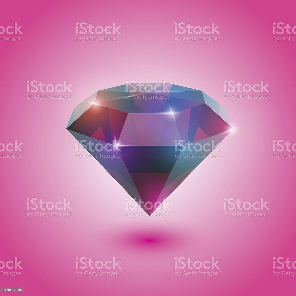 Ruby Gem royalty-free stock vector art