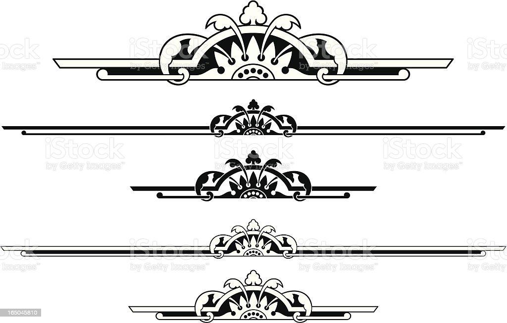 Ruleline Design royalty-free stock vector art
