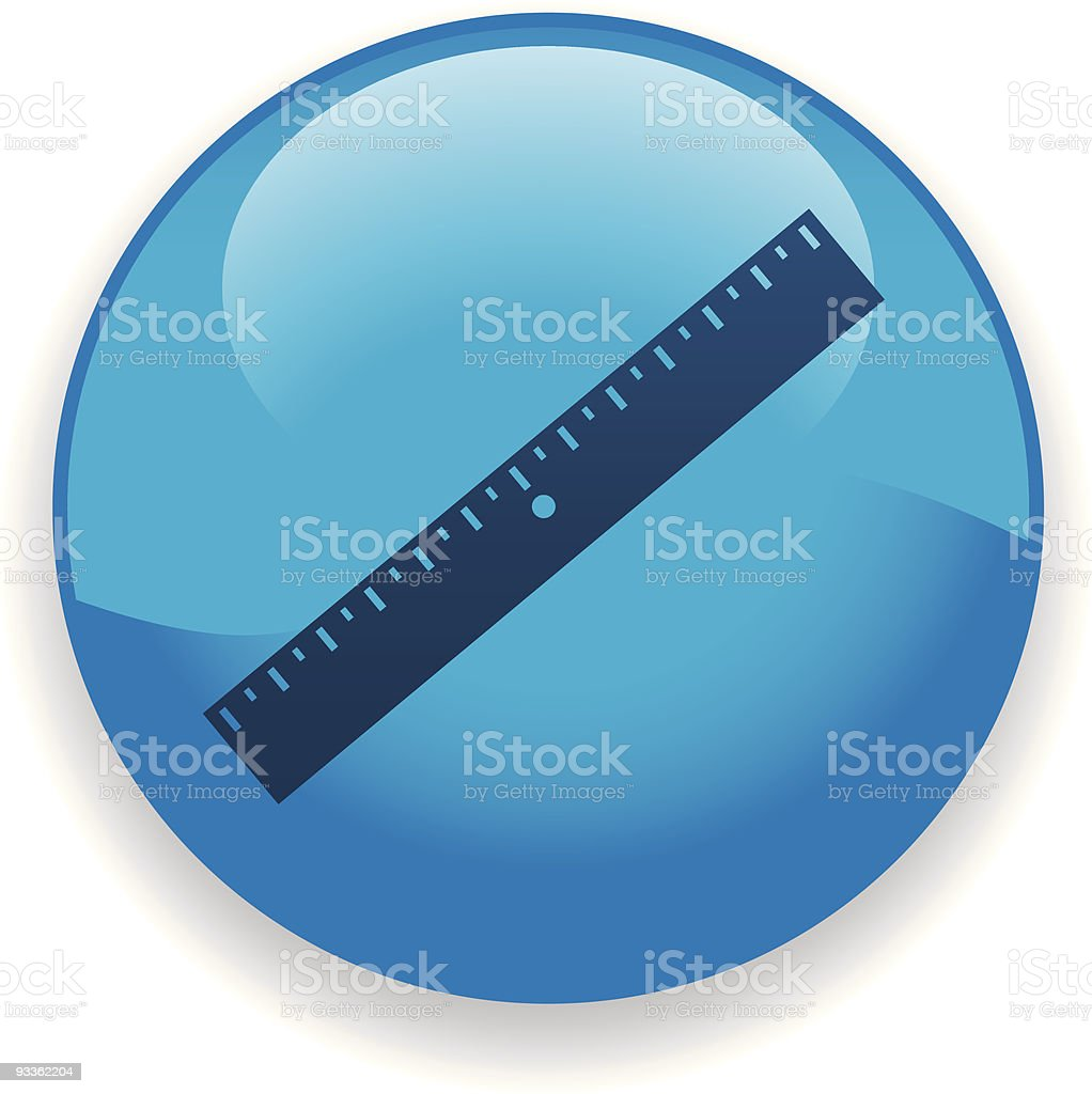 Ruler Icon royalty-free stock vector art