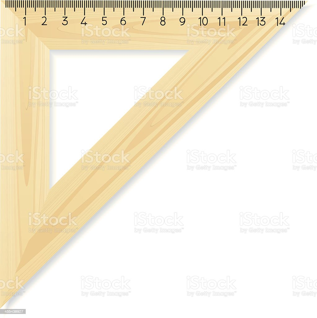 ruler vector art illustration