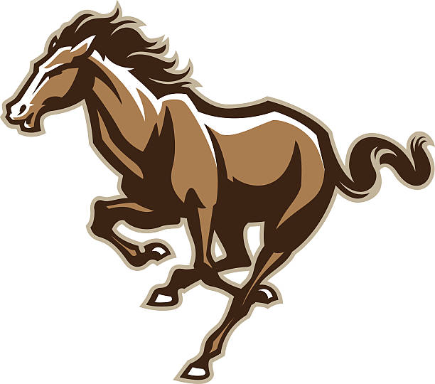 Horses Clip Art, Vector Images & Illustrations - iStock