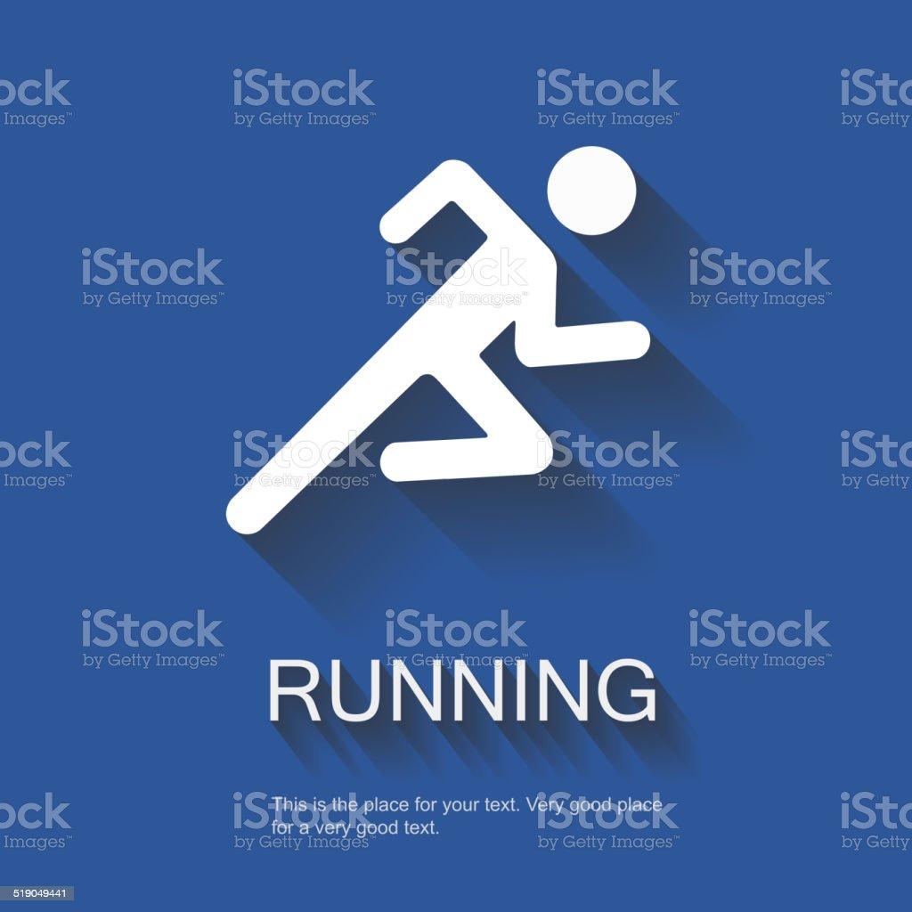 Running Vector Illustration vector art illustration