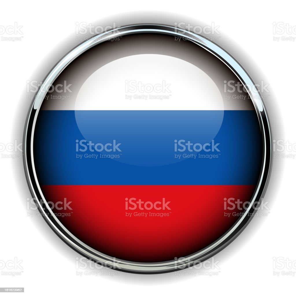 Russia button royalty-free stock vector art