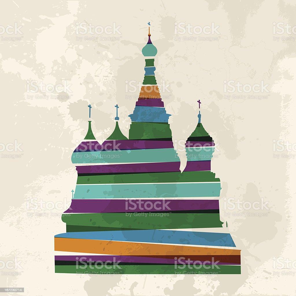 Russia diversity royalty-free stock vector art
