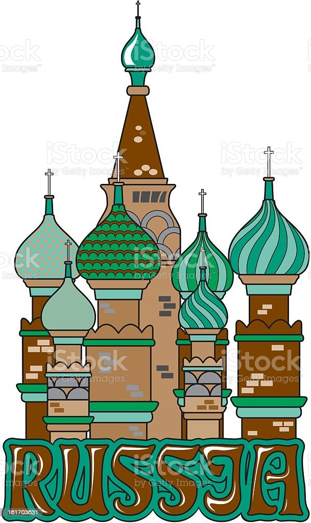 Russia royalty-free stock vector art