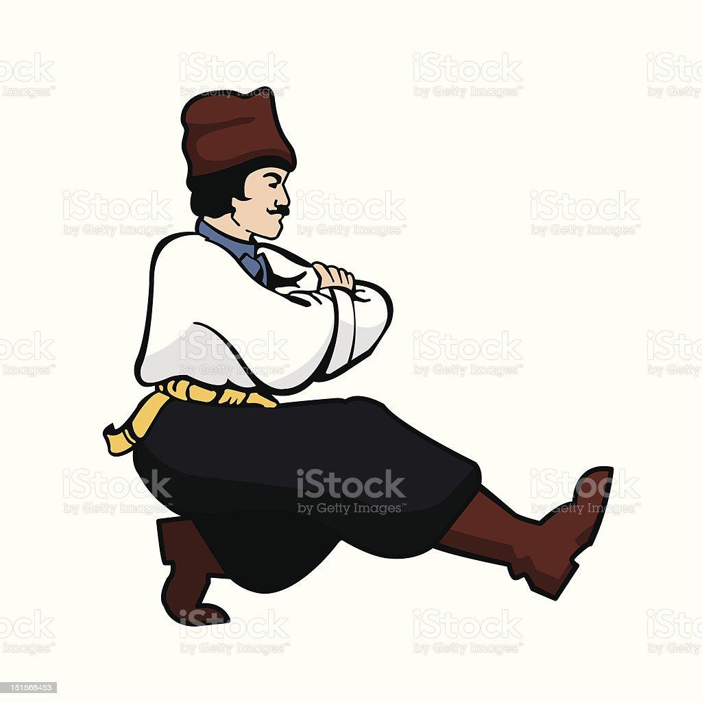 Russian Dancer stock vector art 151566453 | iStock