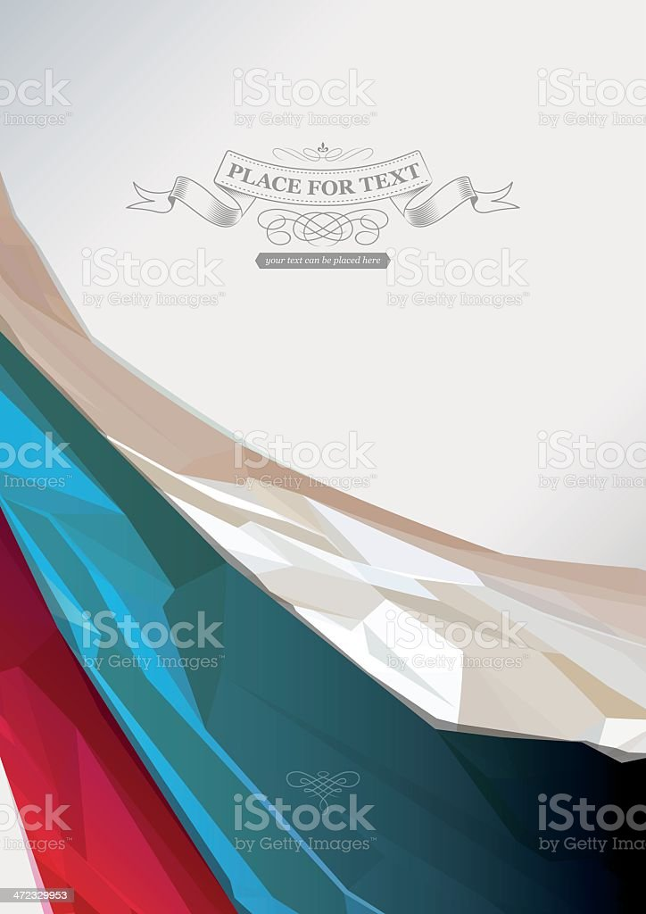 russian flag background royalty-free stock vector art