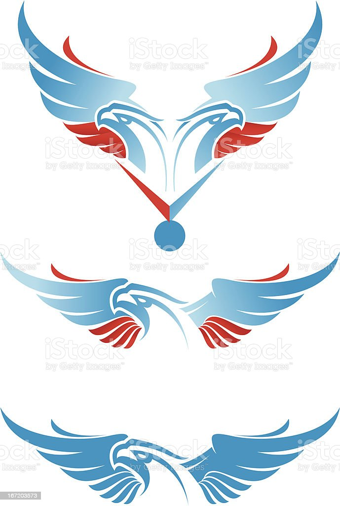 russianeagle royalty-free stock vector art