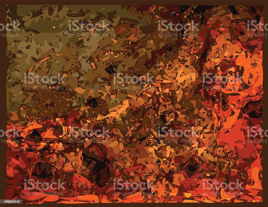 Rust vector art illustration