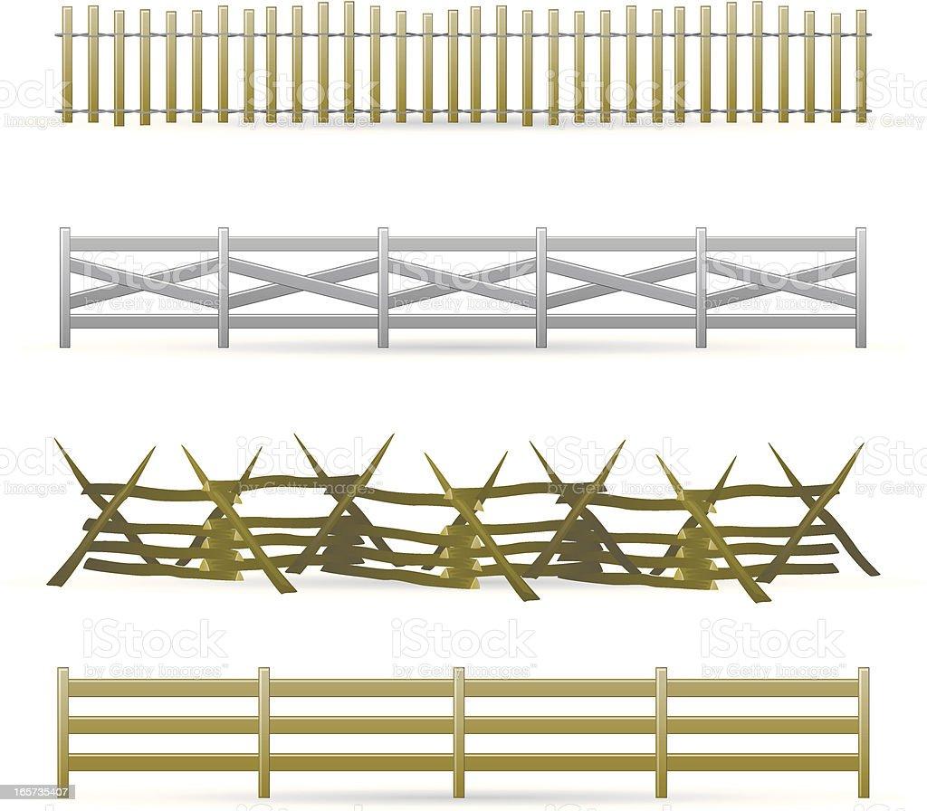 Farm Fence Clipart farm fence clip art, vector images & illustrations - istock