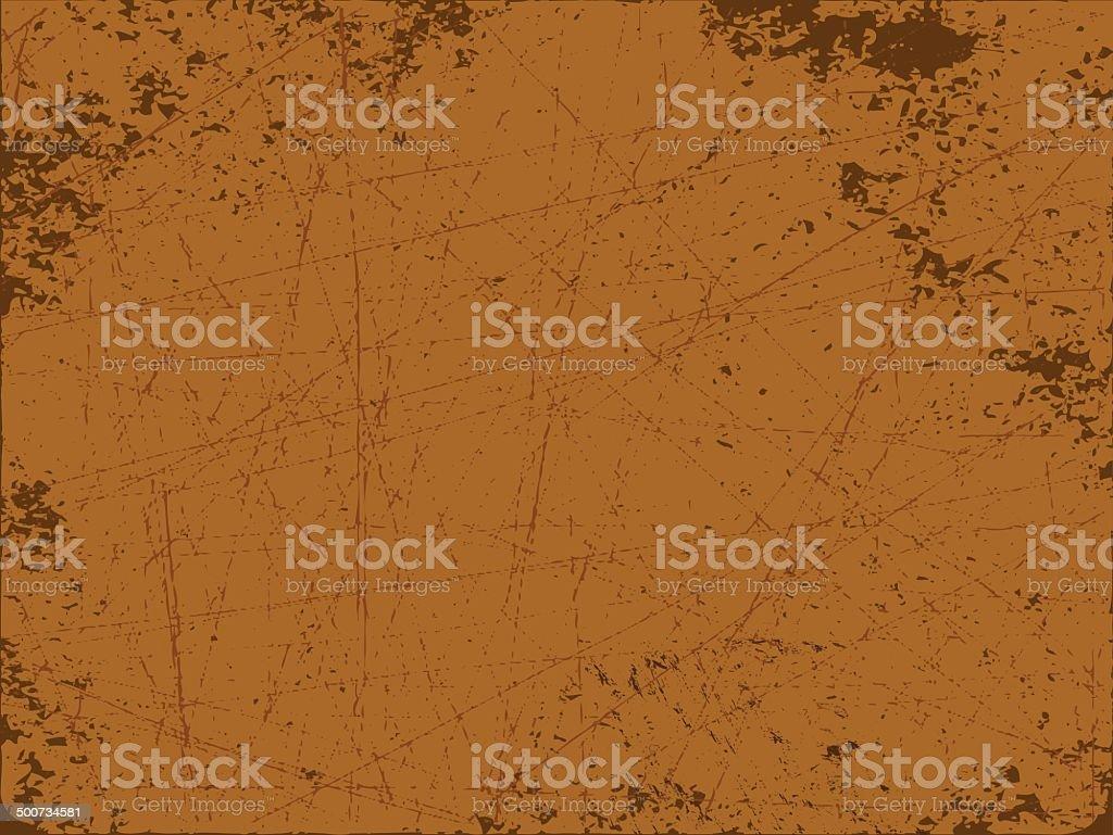 Rusty vector art illustration