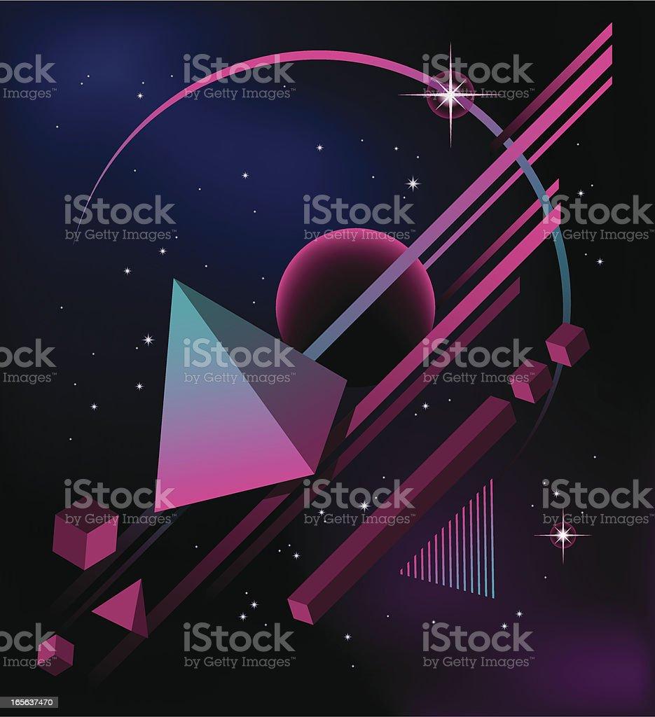 80's Background II royalty-free stock vector art