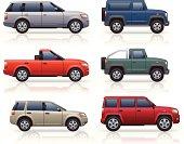 SUV's & Pick-ups
