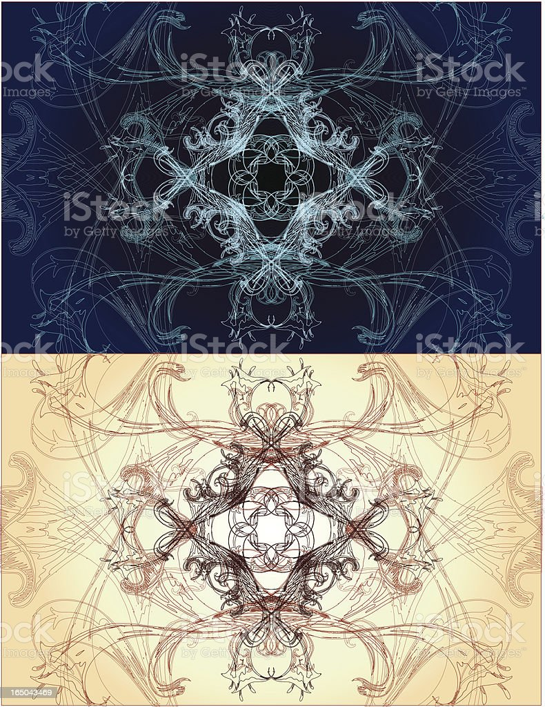 sacred geometry series royalty-free stock vector art