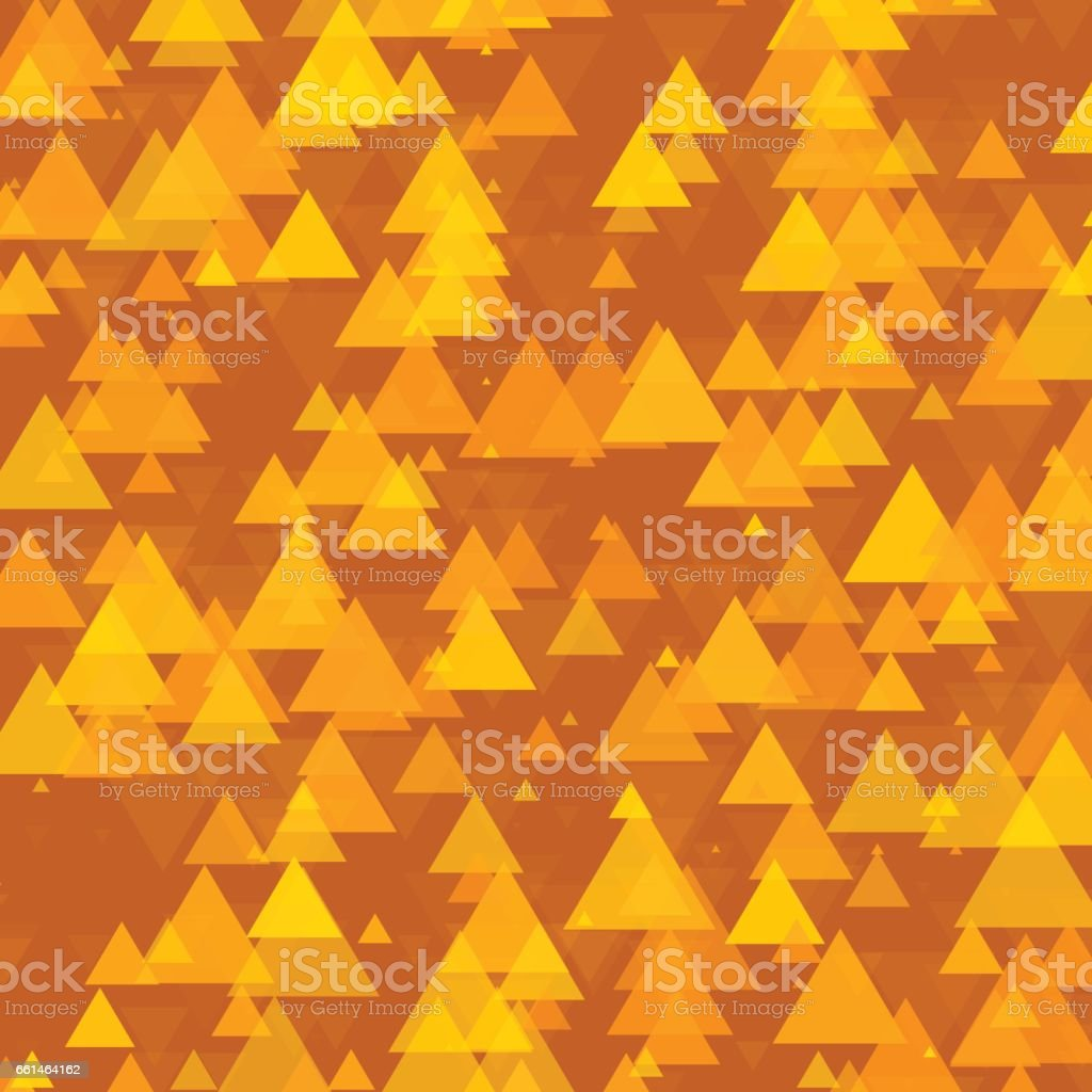 Safari Triangle Geometric Graphic Pattern vector art illustration