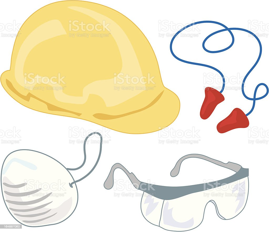 Safety : Gear 1 royalty-free stock vector art