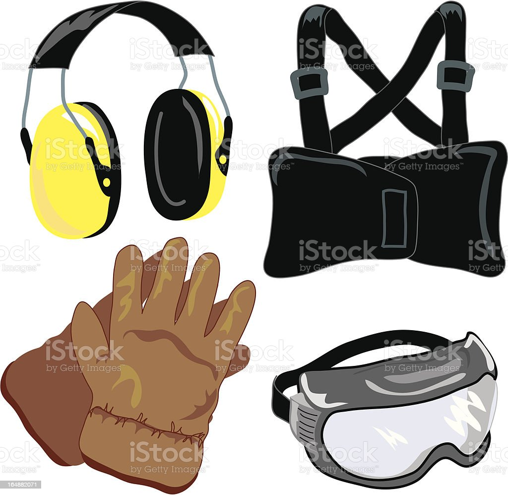 Safety : Gear 2 royalty-free stock vector art