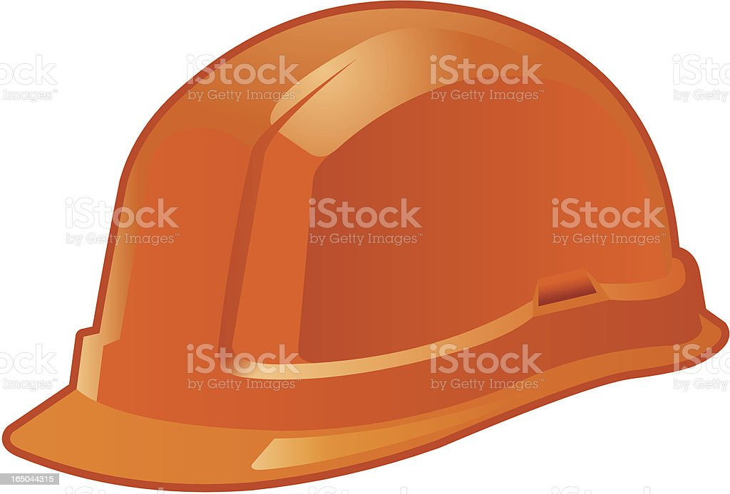 Safety helmet royalty-free stock vector art