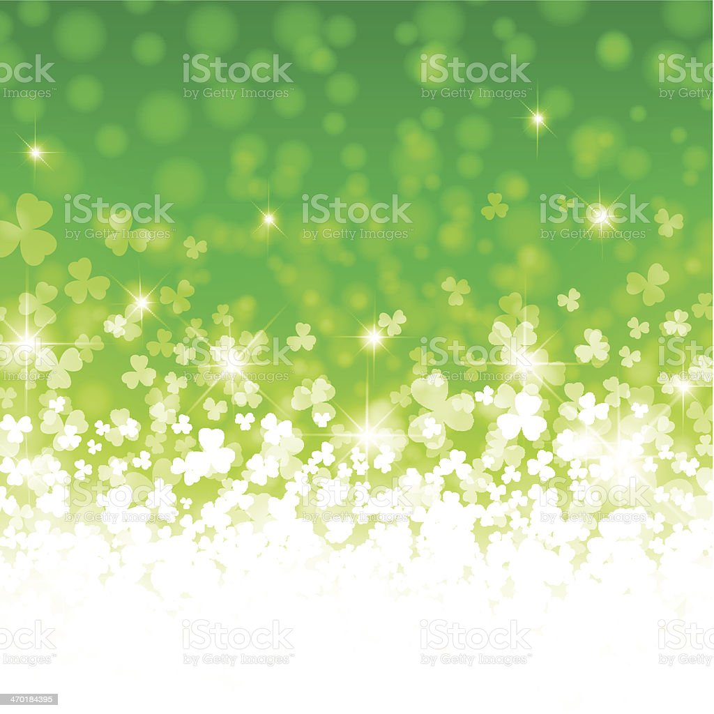 Saint Patrick Day vector art illustration
