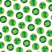 saint patricks day background pattern