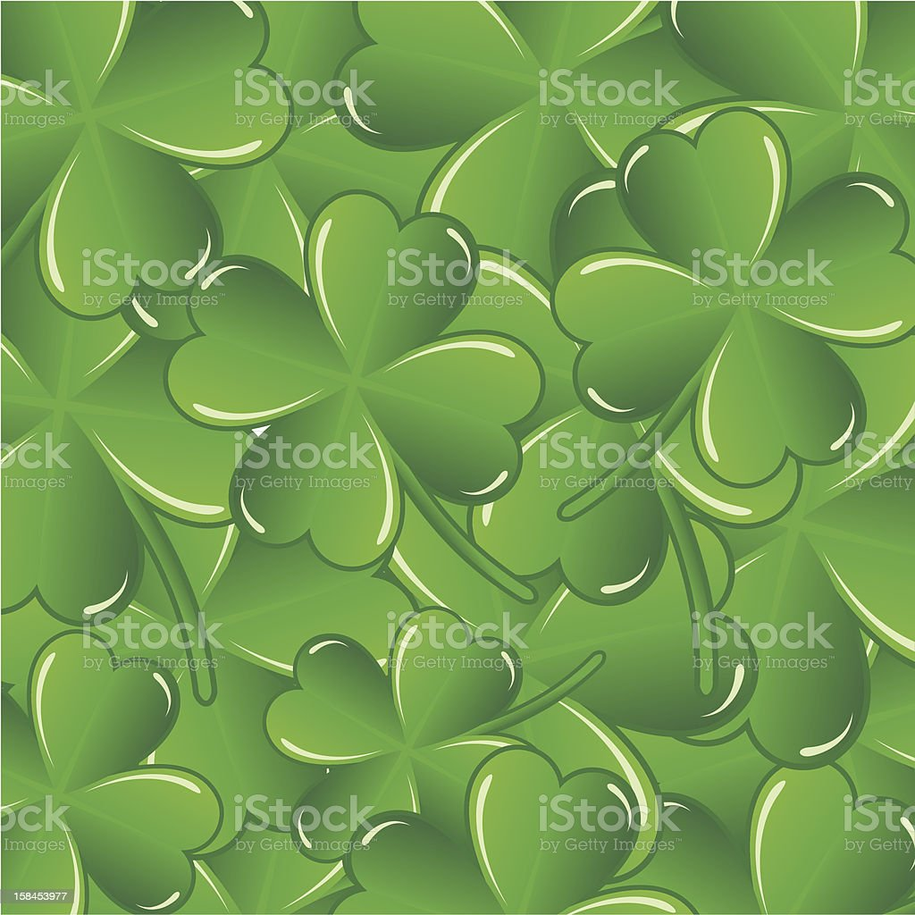 Saint Patrick's day background royalty-free stock vector art