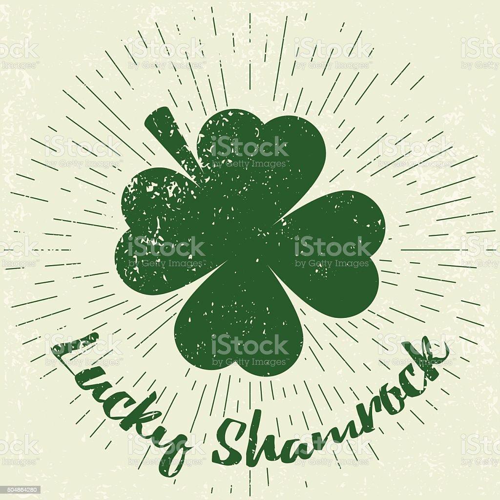 Saint Patricks Day design elements vector art illustration