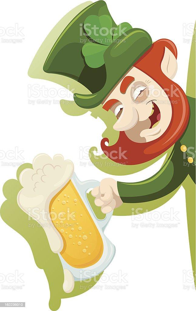 Saint Patrick's Day design royalty-free stock vector art