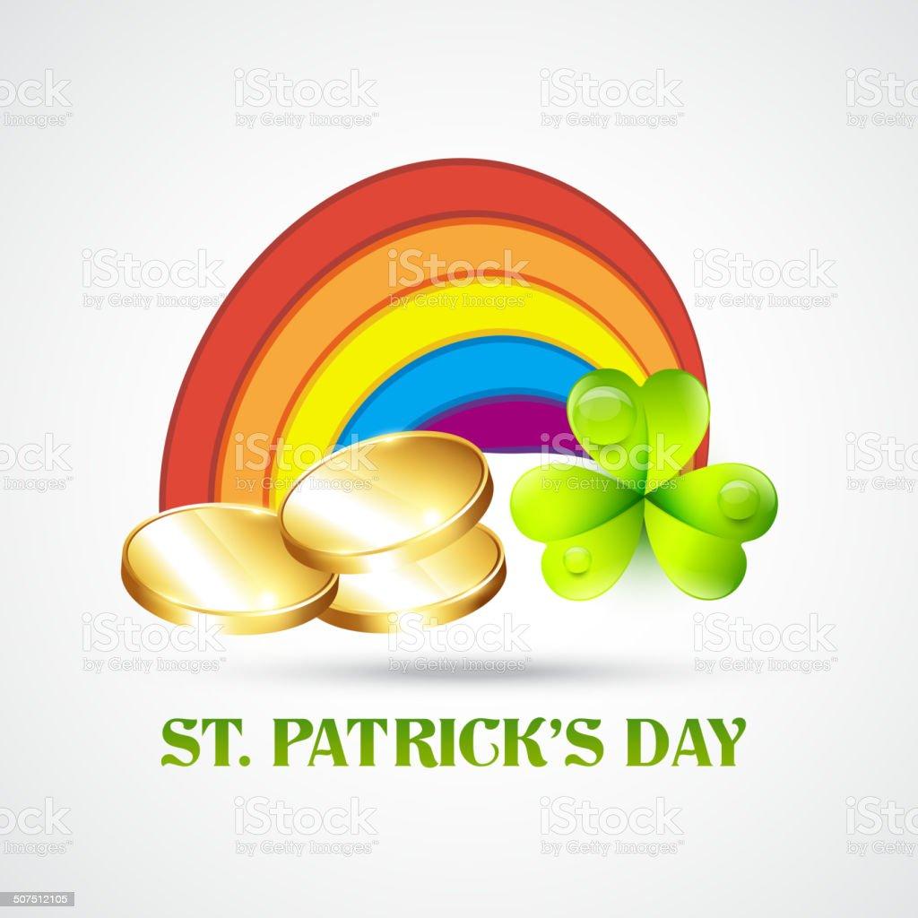 saint patricks day illustration vector art illustration