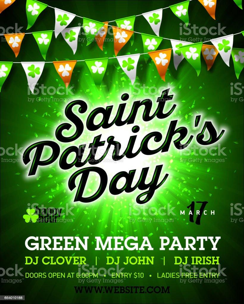 Poster design 101 - Saint Patrick S Day Party Celebration Poster Design Royalty Free Stock Vector Art