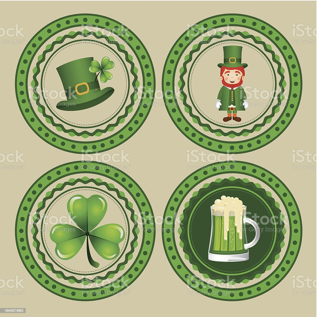 Saint Patrick's Day royalty-free stock vector art