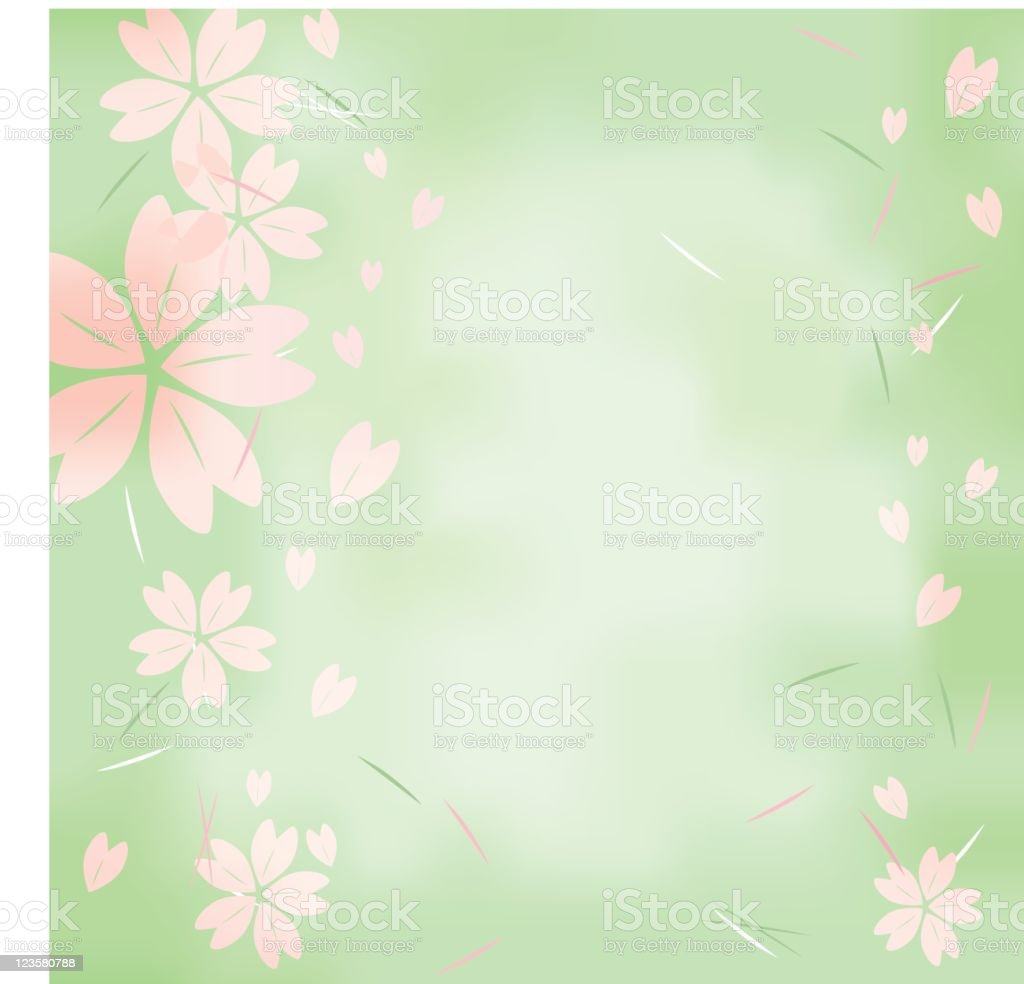 Sakura royalty-free stock vector art