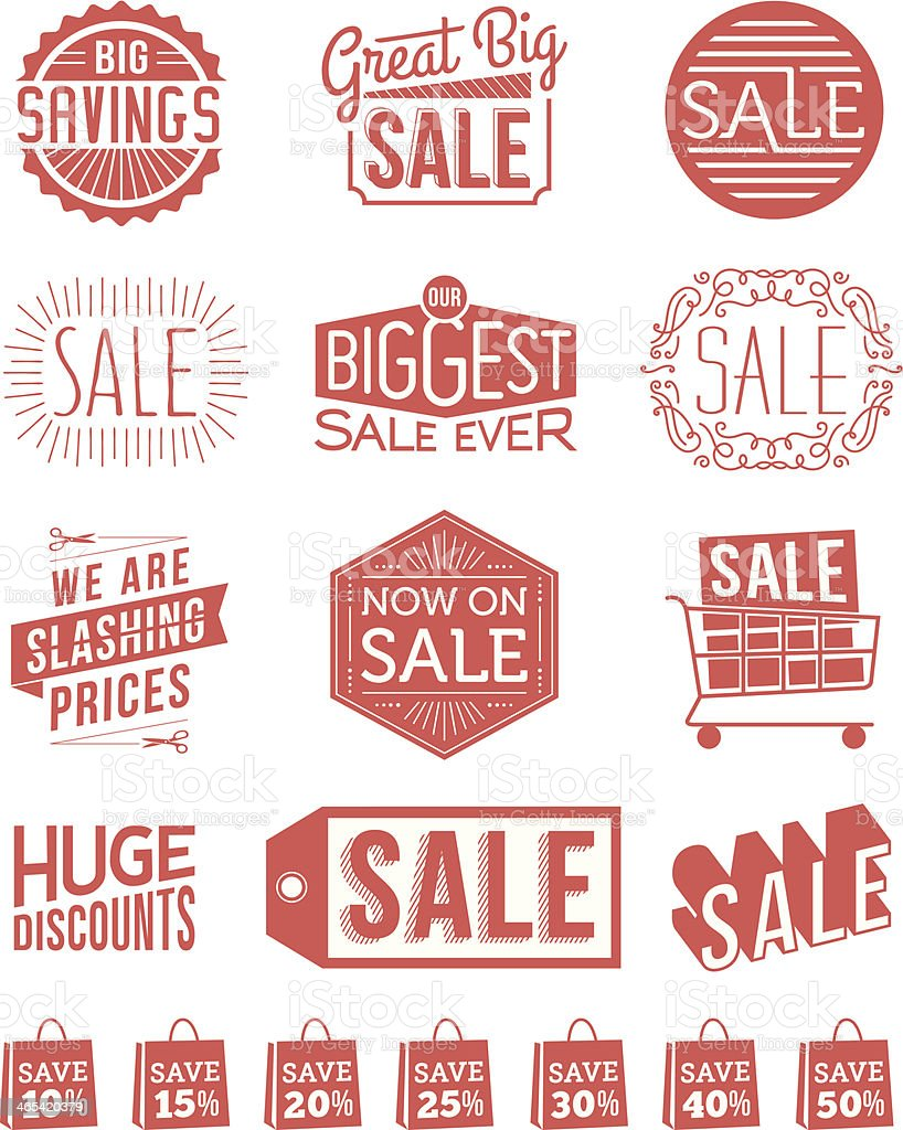 Sale Banners royalty-free stock vector art