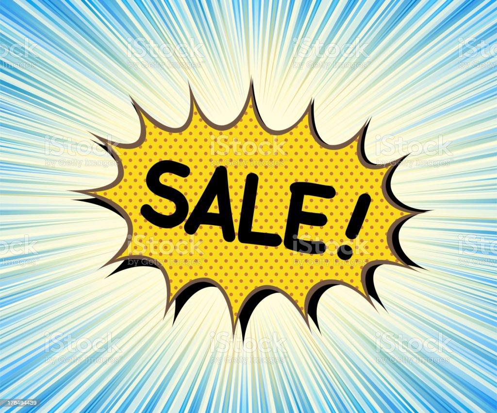 sale bubble royalty-free stock vector art