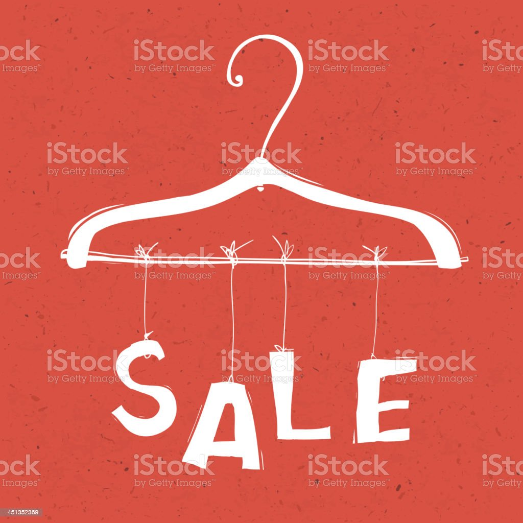 Sale concept illustration royalty-free stock vector art