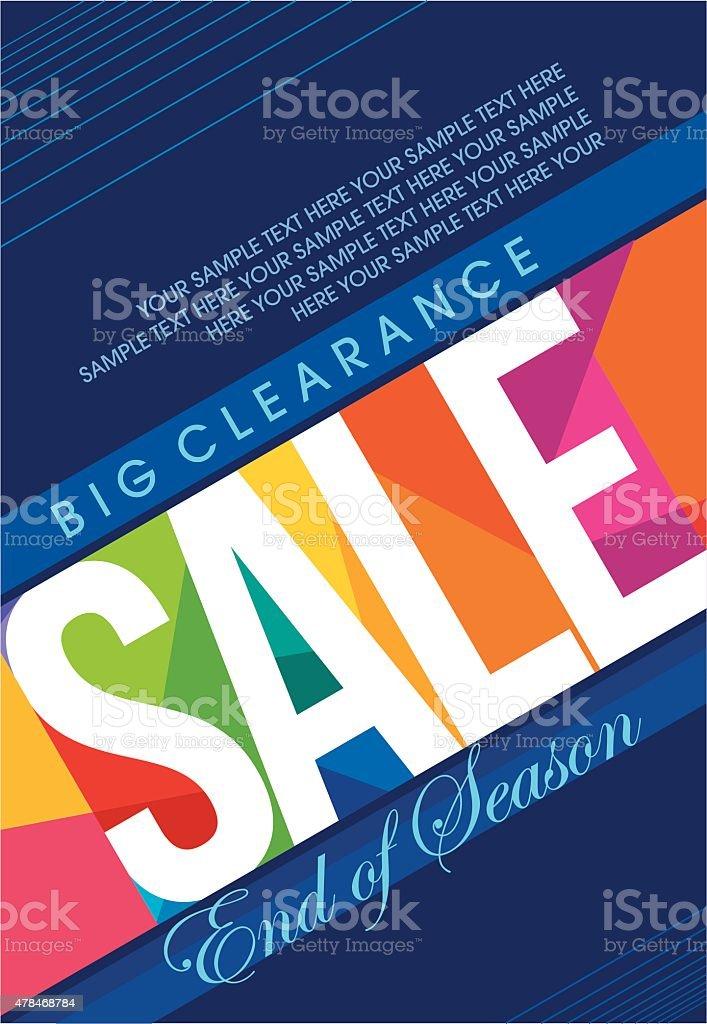 Sale design template vector vector art illustration