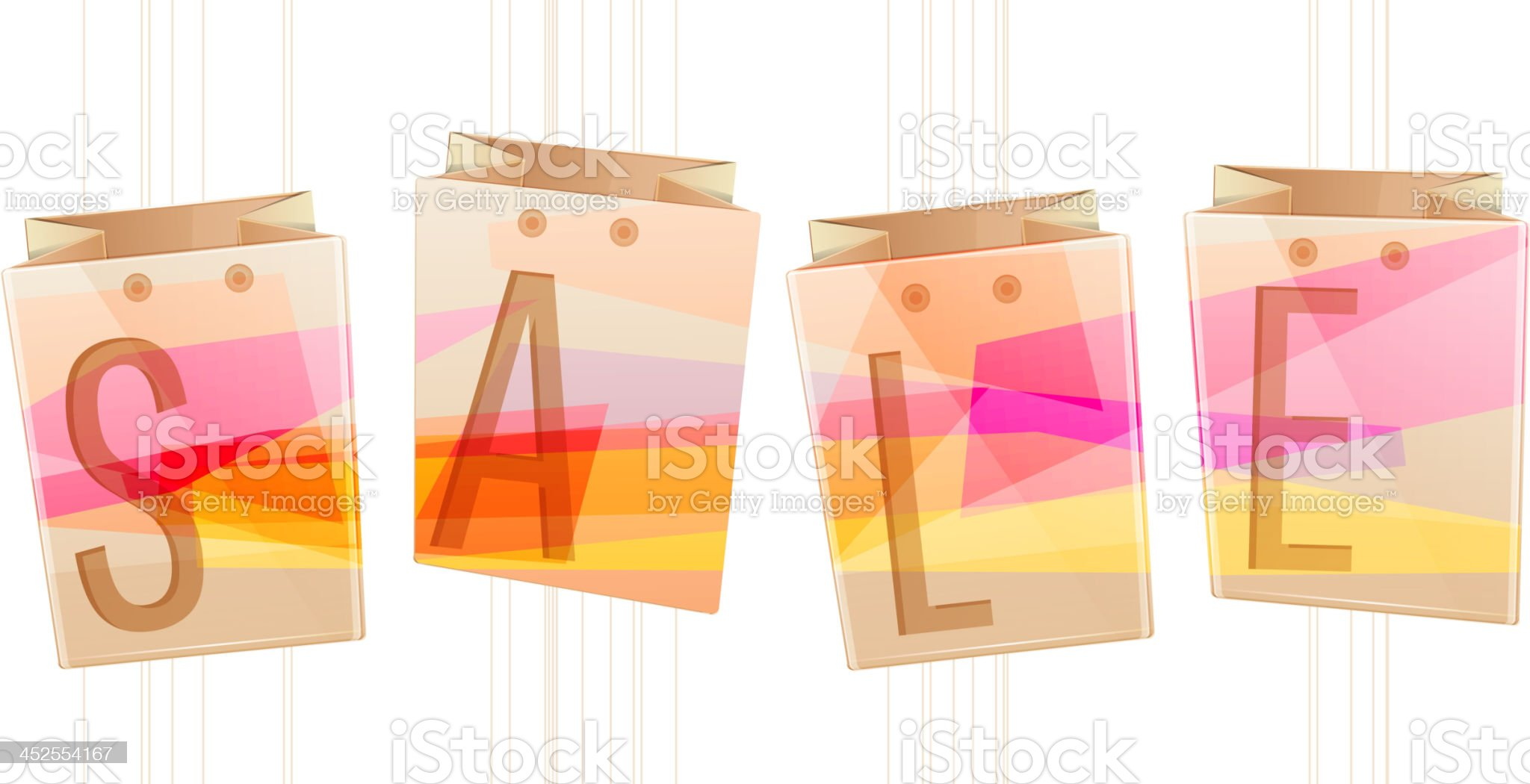 Sale Icon royalty-free stock vector art