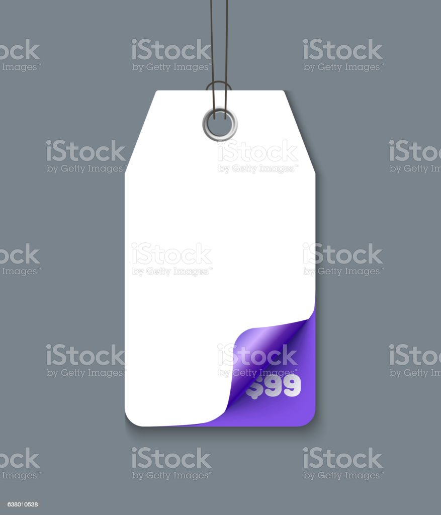 Sale tag vector vector art illustration